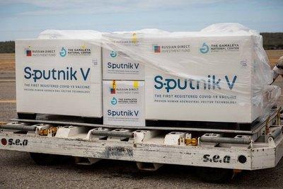 Vacunas Sputnik V entrarán en cuarentena al llegar al país
