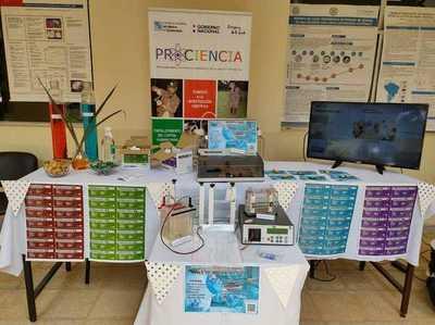 Campus de la UNA: Primera Expo Científica del Instituto de Investigaciones Científicas de la Salud