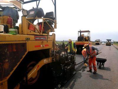 En diciembre terminaría el asfaltado de la ruta San Juan Nepomuceno-Cruce Kimex
