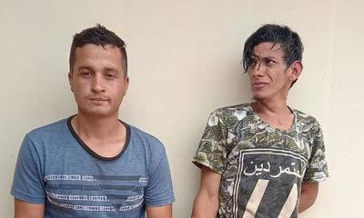 Logran aprehender a presuntos autores de robo en Caaguazú – Prensa 5