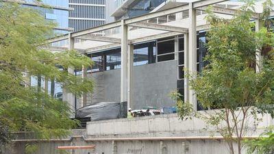 Un obrero fallece en construcción de oficinas estatales