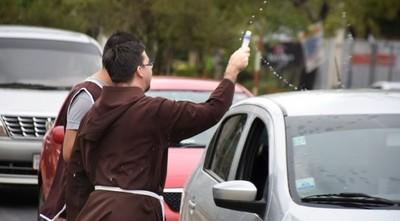 Capuchinos bendecirán vehículos este sábado en CDE