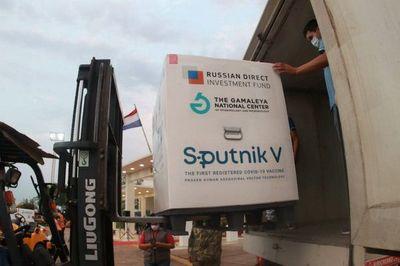 Salud pondrá en cuarentena nuevo cargamento de 107.000 dosis de Sputnik V