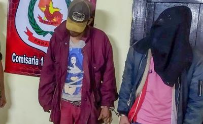 Intentaron ingresar a una casa para robar y fueron aprehendidos