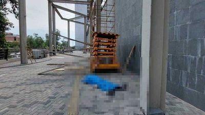 Obrero cayó de andamio y murió en construcción del nuevo edificio del gobierno