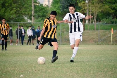 Sub 14: Libertad, el puntero solitario del torneo Clausura