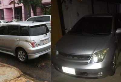 Roban vehículo en pleno centro de Coronel Oviedo – Prensa 5