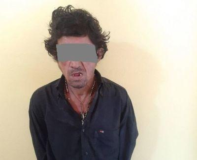 """Detienen a """"Hugo Banda"""", un hombre con frondosos antecedentes en Concepción"""