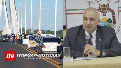 GOBERNADOR GUSTAVO MIRANDA DESTACA LA IMPORTANCIA DE LA REAPERTURA FRONTERIZA DE ARGENTINA.