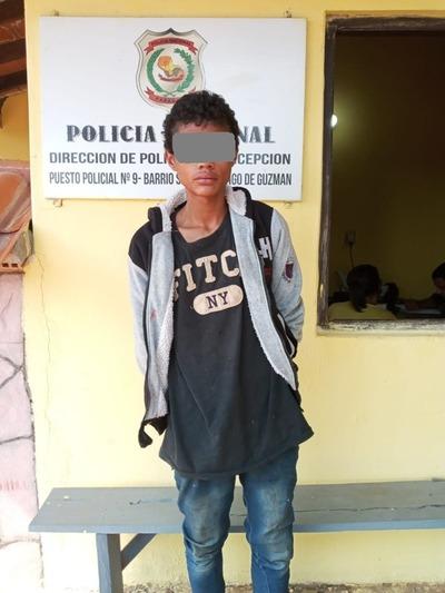 Policía recupera celular robado por un menor