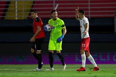 Libertad, con árbitro confirmado para la revancha ante Bragantino