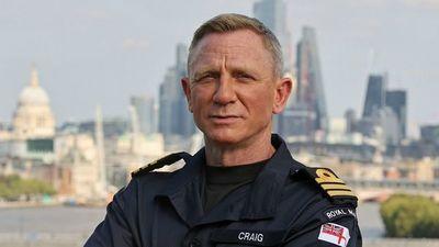 Daniel Craig, comandante de la Royal Navy