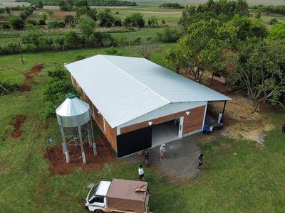 Gobierno inaugura fábrica de balanceados en asentamiento campesino de Misiones