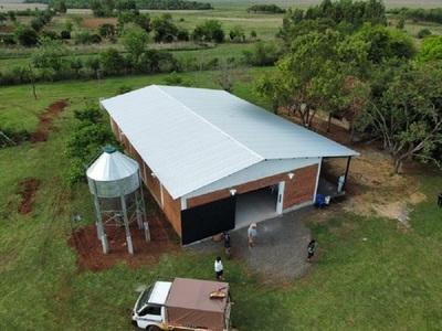 Gobierno Nacional inaugura fábrica de balanceados en asentamiento campesino de Misiones