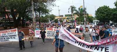 Más penas para invasores de tierra: En Alto Paraná movilizaciones fueron en 12 frentes