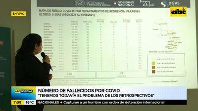 Continúa el descenso sostenido de casos de covid a nivel país