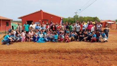 El MUVH entregó 70 viviendas a familias de Villarrica y con esto suman más de 1.000 las entregadas en Guairá