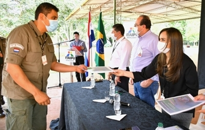 Ministerio del Ambiente reconoce, registra y habilita trabajo del Cuerpo de Guardaparques de Itaipu