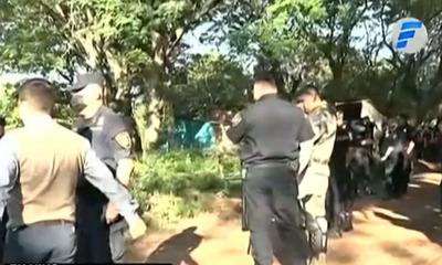 Luque: Unas 80 familias son desalojadas de una propiedad