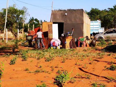Invaden tierras en Maramburé y gente lamenta haber caído en engaños
