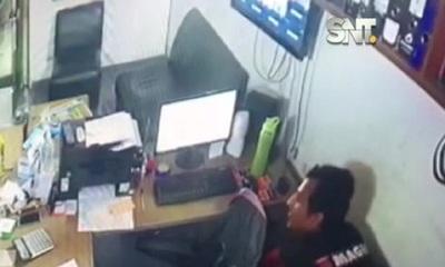 San Lorenzo: Se fue a pedir trabajo y terminó robando