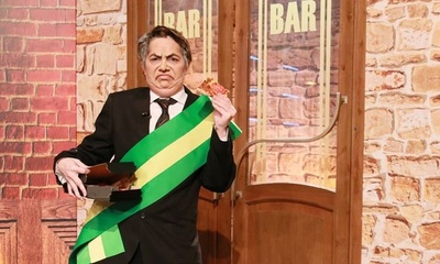 Jail Bolsonaro llegó al bar