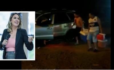 Juez Cinthia Garcete envía a su casa al que provocó accidente fatal
