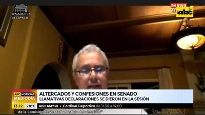 Altercados, confesiones e insultos en sesión del Senado