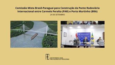 Comisión binacional aprobó la licitación del puente Puerto Murtinho