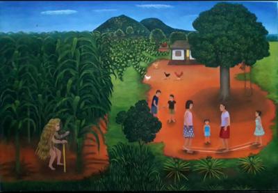 """Exponen obras de Adelaida Colmán """"Nuevos enfoques naif: mitos, fiestas y procesiones"""""""