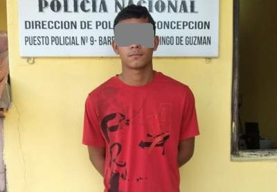 Joven fue aprehendido tras llevarse a su casa a una menor de 13 años