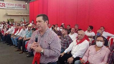"""Horacio Cartes pide """"teñir derojo"""" Itapúa en las próximas elecciones"""