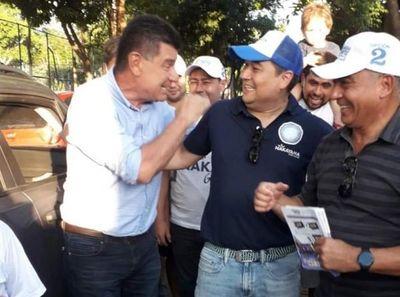 """Efraín Alegre: """"Con Edu Nakayama vamos a dar un duro golpe a la mafia"""""""