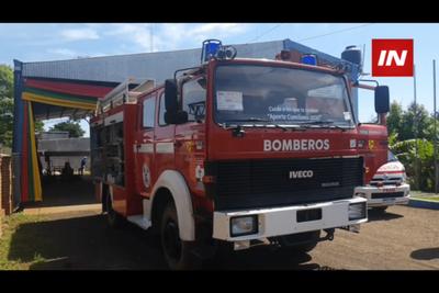 BOMBEROS DE FRAM ADQUIEREN NUEVO CAMIÓN AUTOBOMBA
