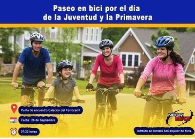 Municipio luqueño invita a participar del paseo en bici •