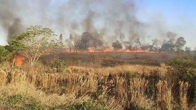 Alto Paraná registra varios focos de incendio