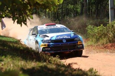 Rally Carapeguá: Bestard reafirma su momento ganando la etapa 1
