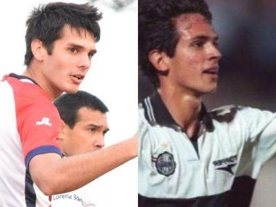 El goleador del 15 de Agosto y su semejanza con Roque Santa Cruz