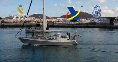 La Nación / Incautan más de una tonelada de cocaína en un velero frente a costas de Canarias