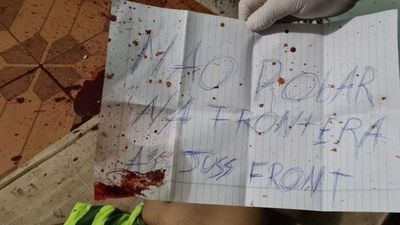"""Reaparecen los """"Justicieros de la frontera"""": matan de 7 balazos en la cabeza a un joven"""