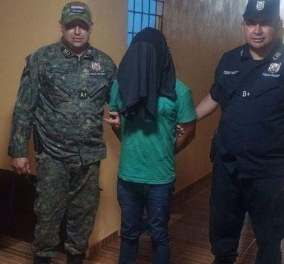 Un sospechoso de feminicidio fue detenido en Capitán Bado