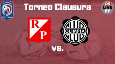 River Plate quiere ser escolta, Olimpia salir del fondo