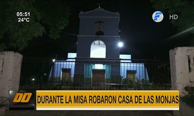 Durante la misa robaron casa de monjas en Ypané
