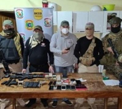 Enfrentamiento a tiros tras allanamiento en Canindeyú