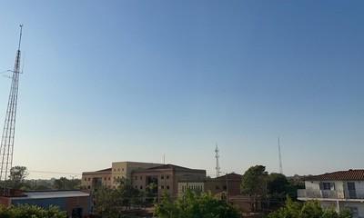Lunes caluroso con máxima de 37°C en Coronel Oviedo