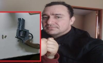 Guardia enojado con su mujer es detenido por disparar