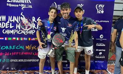 Selección paraguaya es campeón mundial de pádel juvenil