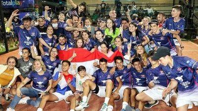 Paraguay, campeón juvenil en pádel