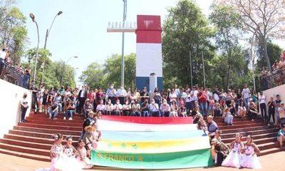 Presidente Franco conmemoró el Día Mundial del Turismo con festival en el Hito Tres Fronteras