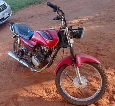 Denuncian motocicleta denunciada como robada – Prensa 5